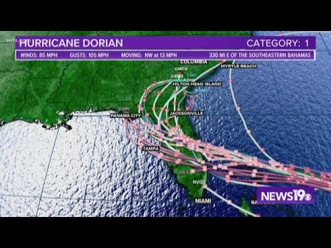 2 tornadoes confirmed in South Carolina during Hurricane Dorian