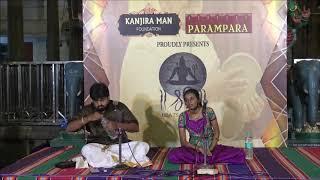shree beats festival konnakol duet by shri somshekar jois and v shivapriya full video