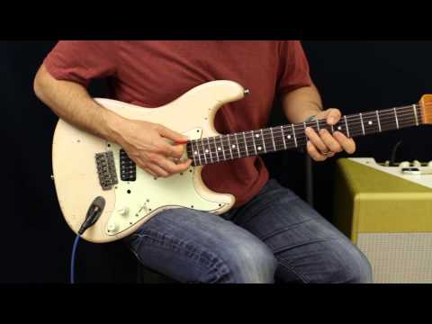 Pearl Jam - Yellow Ledbetter - Tutorial - How To Play - Guitar Lesson