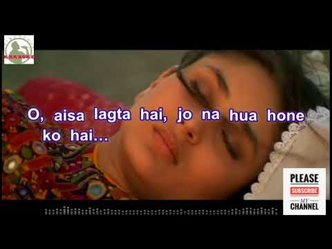 Aisa Lagta Hai - Refugee Full Karaoke Track with Lyrics