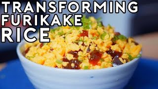 Transforming Furikake Gohan from Food Wars! | Anime with Alvin