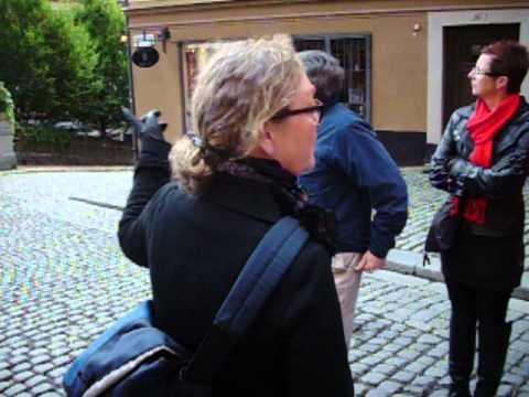 """2012 Stockholm """"Old Town"""" Sightseeing"""