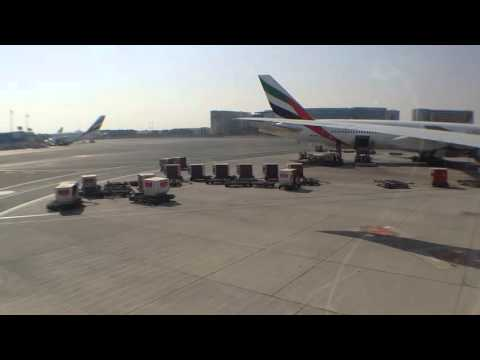 The Takeoff from Dubai to Chicago