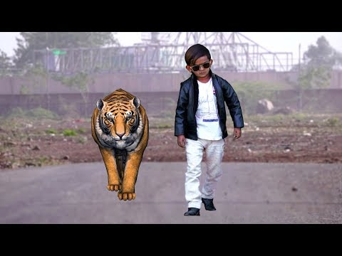 CHOTU AUR TIGER | छोटू और टाइगर | Khandesh Hindi Comedy | Chotu Comedy Video