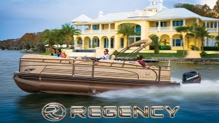 2015 Regency Luxury Pontoon Boats - HD Video