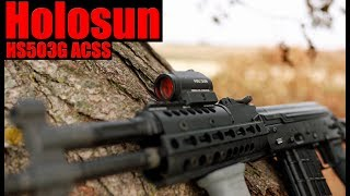 Holosun 503G ACSS Circle Red Dot Review: The Best AR15 Optic For $200