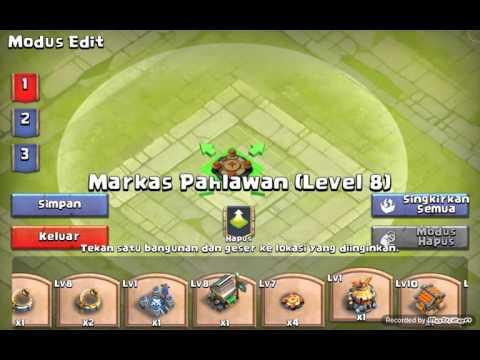 Guild War Base Town Hall LV 10 | Castle Clash