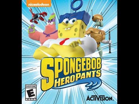 Game Fly Rental (56) Spongebob Heropants Part-10 Squidward Tentaclespants