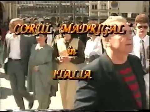 Corul MADRIGAL in Italia - Concert LIVE 1994 Basilica San Marco din Venetia