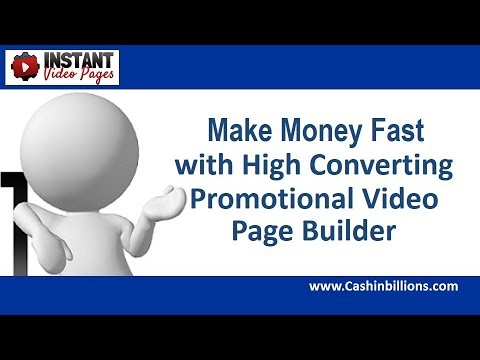 Instant Video Pages Review Demo | Youtube Video Pages | Promotional Video Page Builder