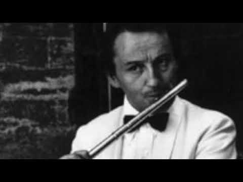 """A. Honegger: """"Danse de la chevre"""" Alain Marion flute."""