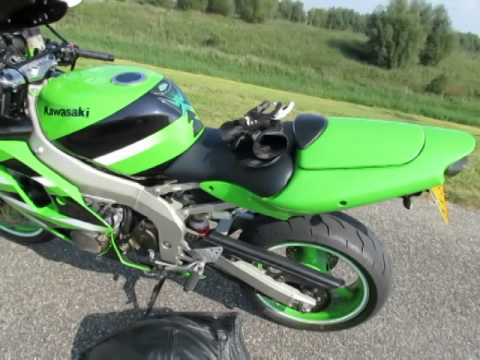 kawasaki ninja zx6r 2001 for sale youtube. Black Bedroom Furniture Sets. Home Design Ideas