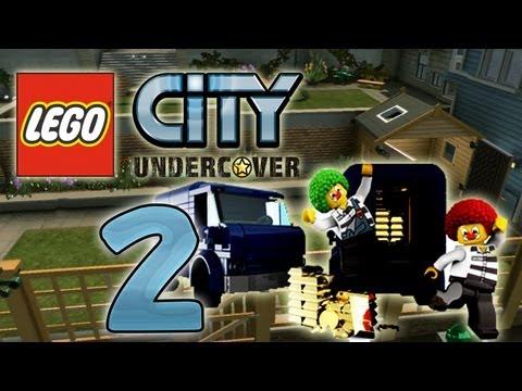 Let's Play Lego City Undercover Part 2: Überfall der Zirkus-Clowns