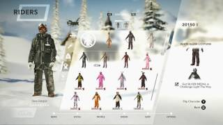 STEEP | How To Unlock The WHITE GLOW SUIT from the MOONLIGHT Pack. Midnight Racing Gameplay