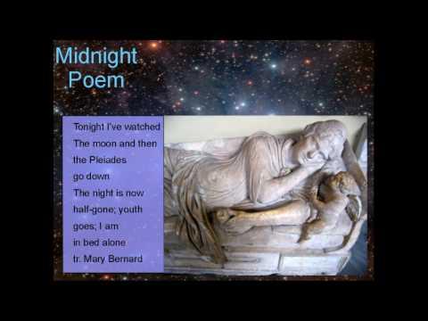 Sappho's Midnight Poem