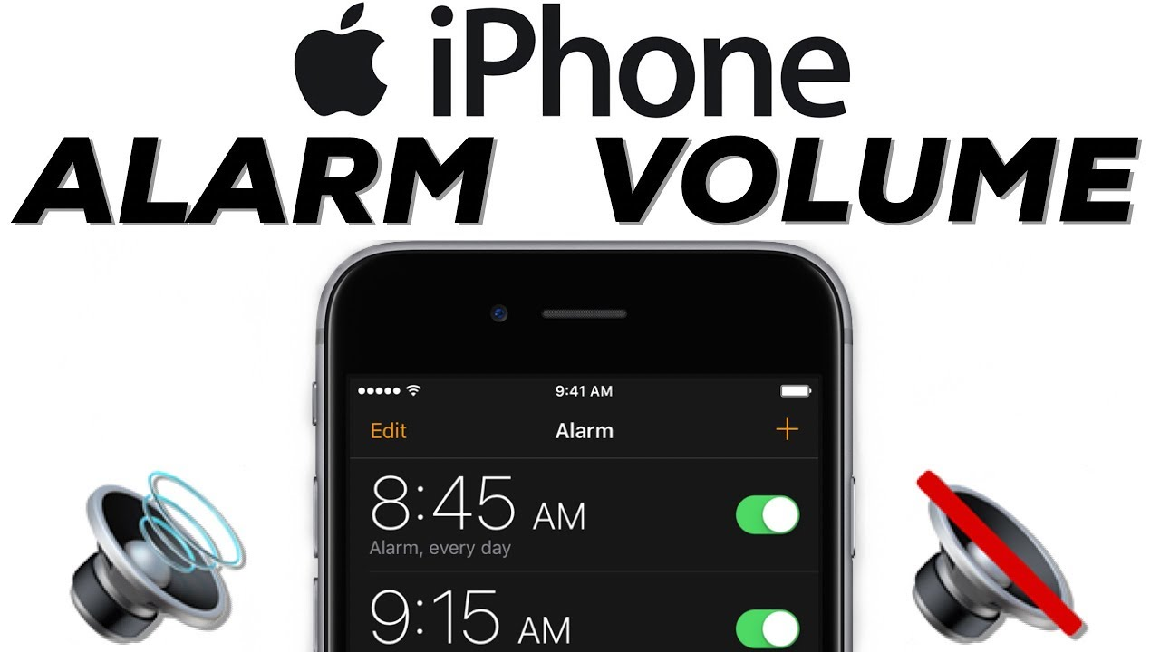 HOW TO Change iPhone Alarm Volume! iPhone Clock App Guide