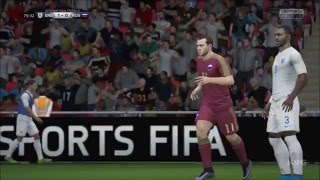 FIFA 16 - UEFA Euro 2016 - England vs Russia | Gameplay (HD) [1080p60FPS]