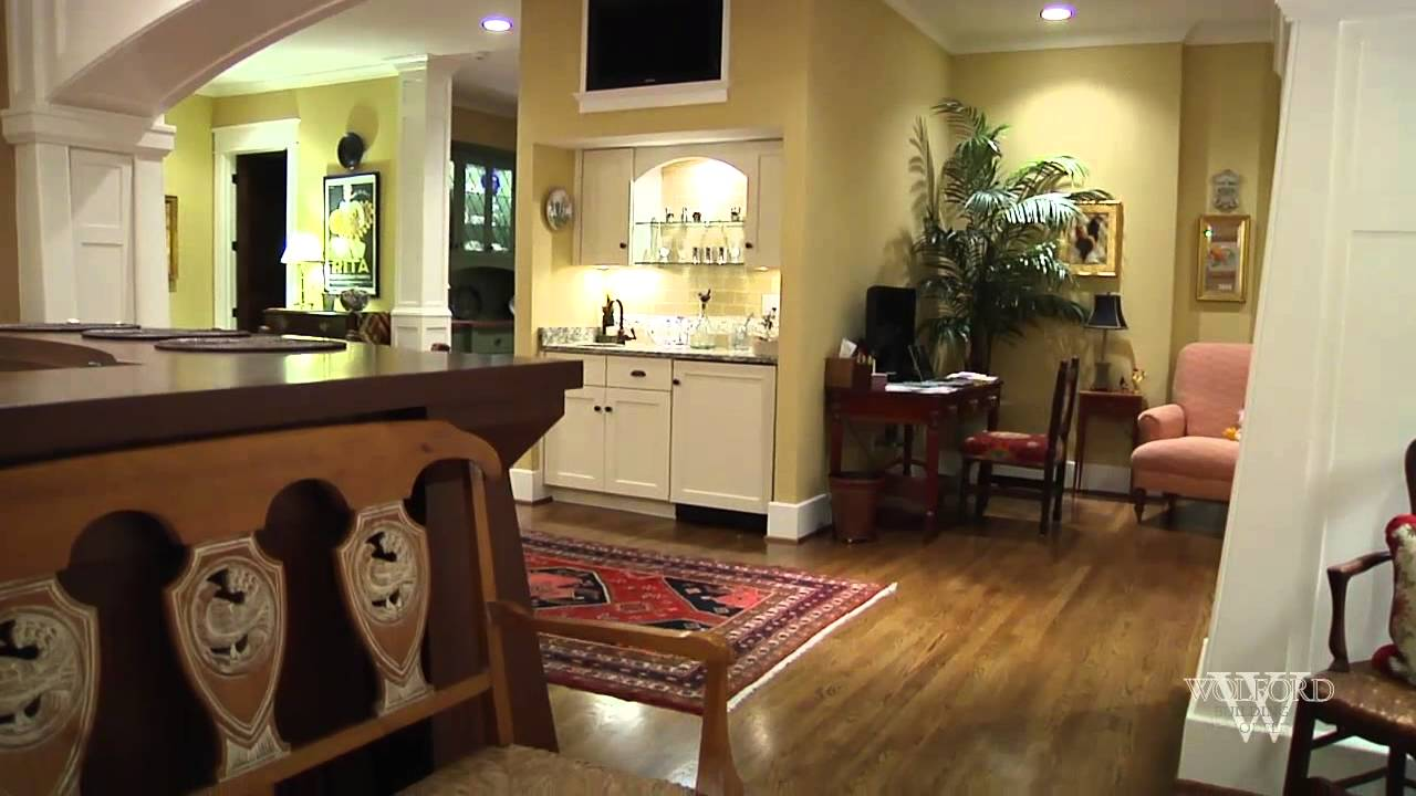1920 39 s bungalow remodel youtube for Kitchen ideas for 1920s house
