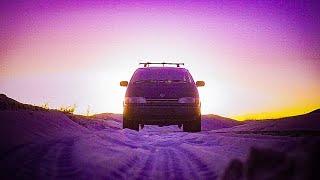 Parking Downtown  | Minivan Camper | AWD Toyota Previa  | Van tour