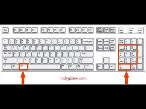 →►How To Make Alt + Number Pad Characters◄←