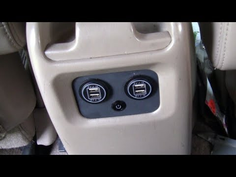 How To Add USB Ports To Center Console 1997   2002 Expedition, 1997   2003 F 150, & Navigator