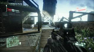 Crysis 2 PC Demo: Multiplayer gameplay on Skyline (Dual GTX 570