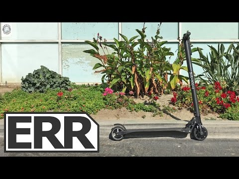 Momas Carbon Video Review - Lightest Electric Kick Scooter