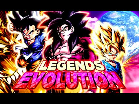 Legends Evolution : Team GOKU GT (Base / SSJ / SSJ4 ) | Dragon Ball Legends