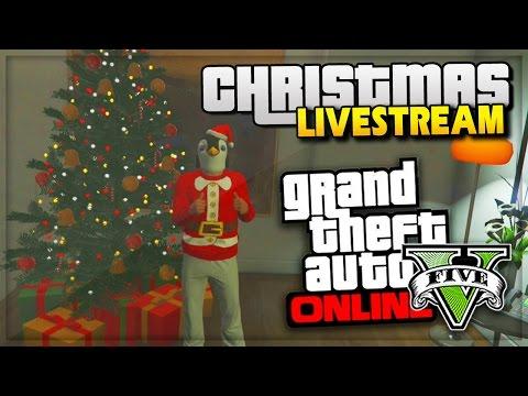 GTA 5 Christmas DLC Gameplay! - NEW GTA Online Content Update (GTA ...