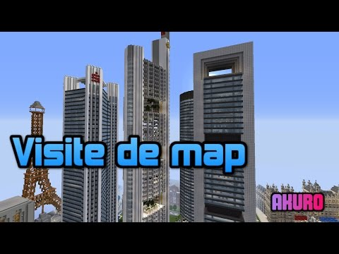 Minecraft - Visite D'une Ville Moderne