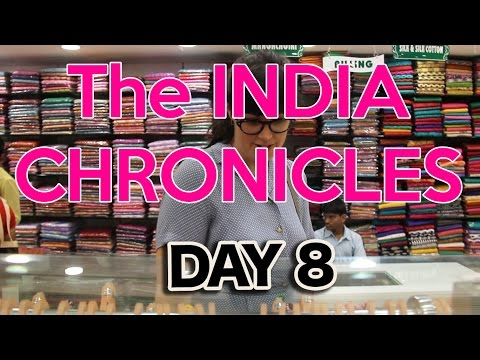 Eating and Shopping in Madurai // India Chronicles 8
