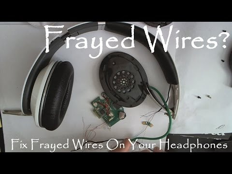 hqdefault dr dre beats headphones frayed wire fix beats studio over ear beats solo 2 wiring diagram at highcare.asia