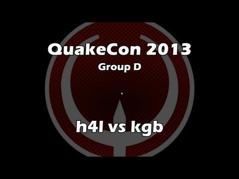 kgb vs h41 - QuakeCon 2013 Group D [Aug. 1, 2013] (Quake Live VOD)