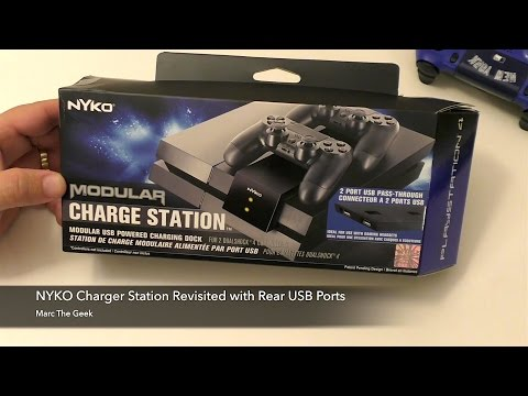 NYKO PS4 Charge Station with Rear USB Ports