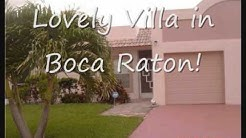 Villa For Sale in Boca Raton, FL - 9071 Fairbanks Lane # 2 - Town Villas
