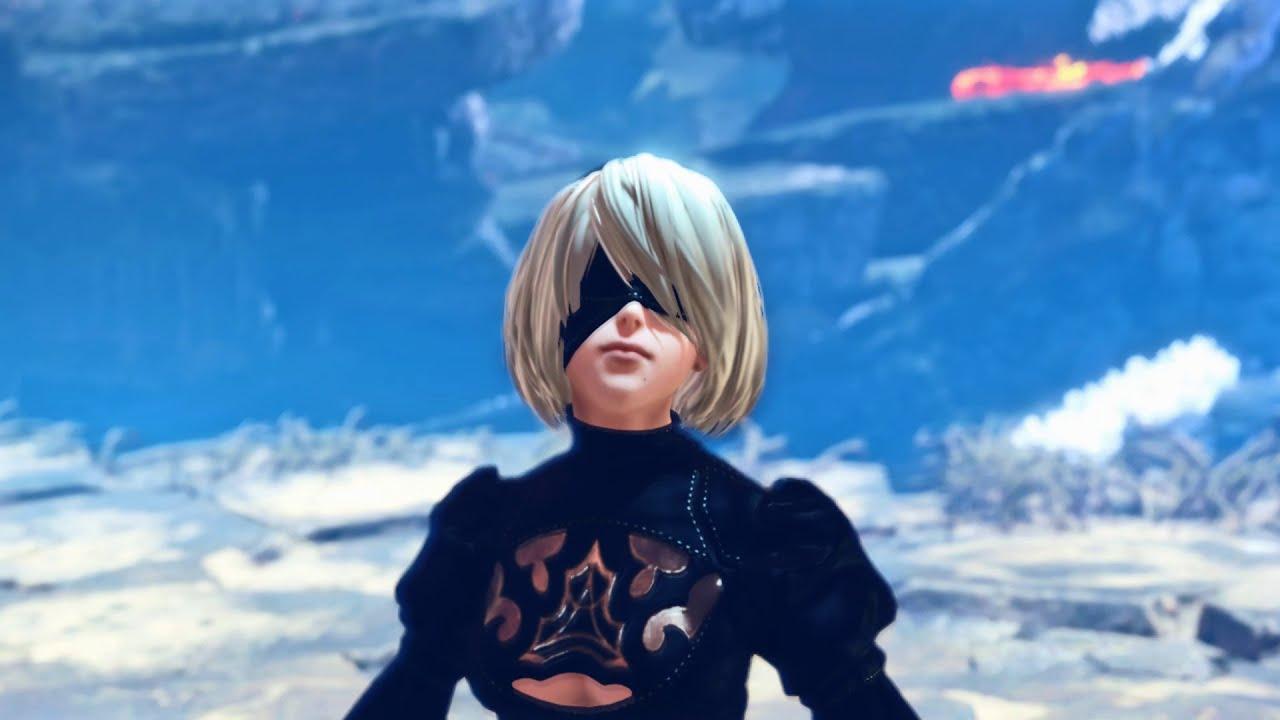 Monster Hunter World mods Yorha 2B no skirt