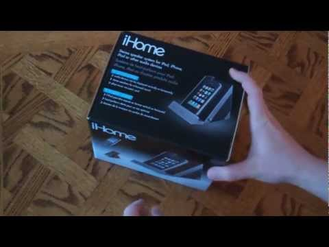 IHome IDM1  Stereo Speaker System For IPad IPod IPhone Review