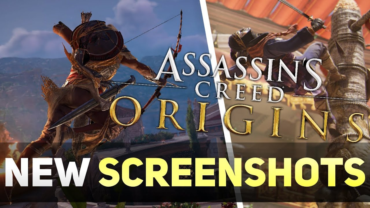 Assassin's Creed Origins NEW Screenshots