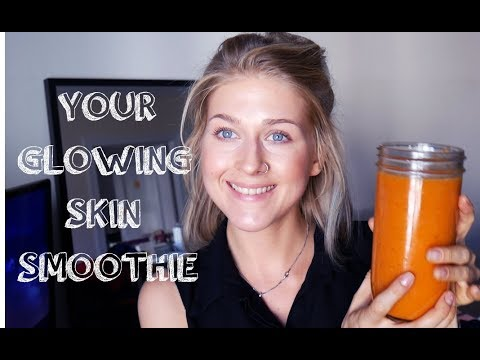GLOWING Skin COCONUT CARROT SMOOTHIE