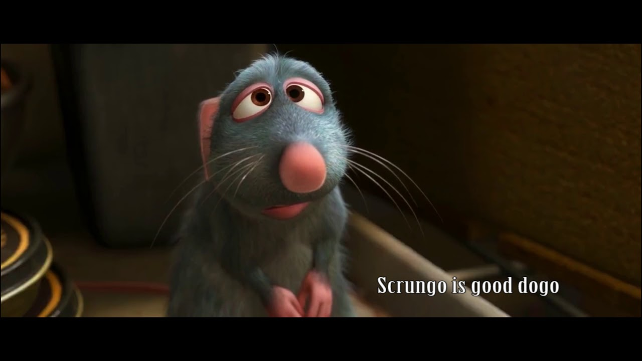 Ratatouille Scene But Everytime Remy Bites Linguini It S Replaced By The Crunch Sound Effect Youtube
