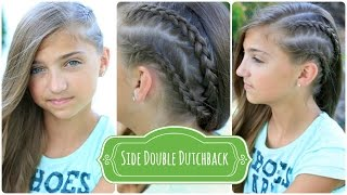 How to Create a Double Dutchback | Heidi Klum Hairstyles