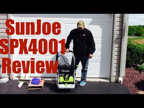 SunJoe Electric Pressure Washer Review