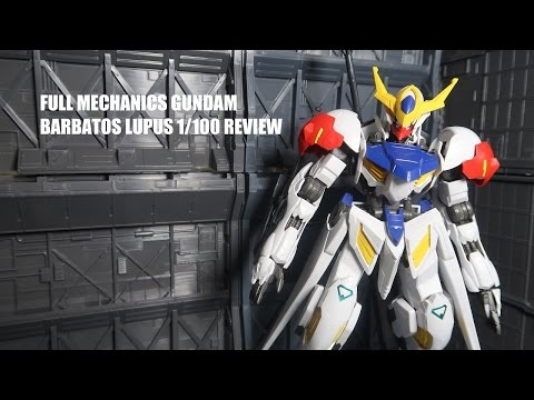 Full Mechanics Gundam Barbatos Lupus  IRON...