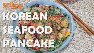 Korean Seafood Pancake &amp Dipping Sauce Recipe