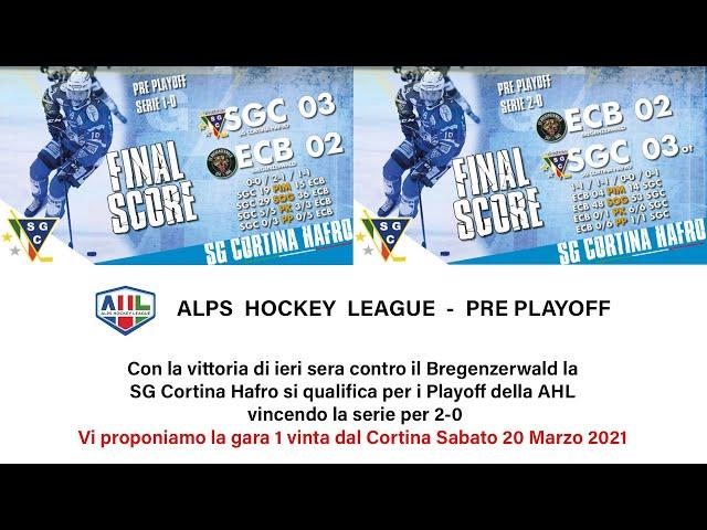SGC CORTINA HAFRO vs EC BREGENZERWALD 20 Marzo 2021