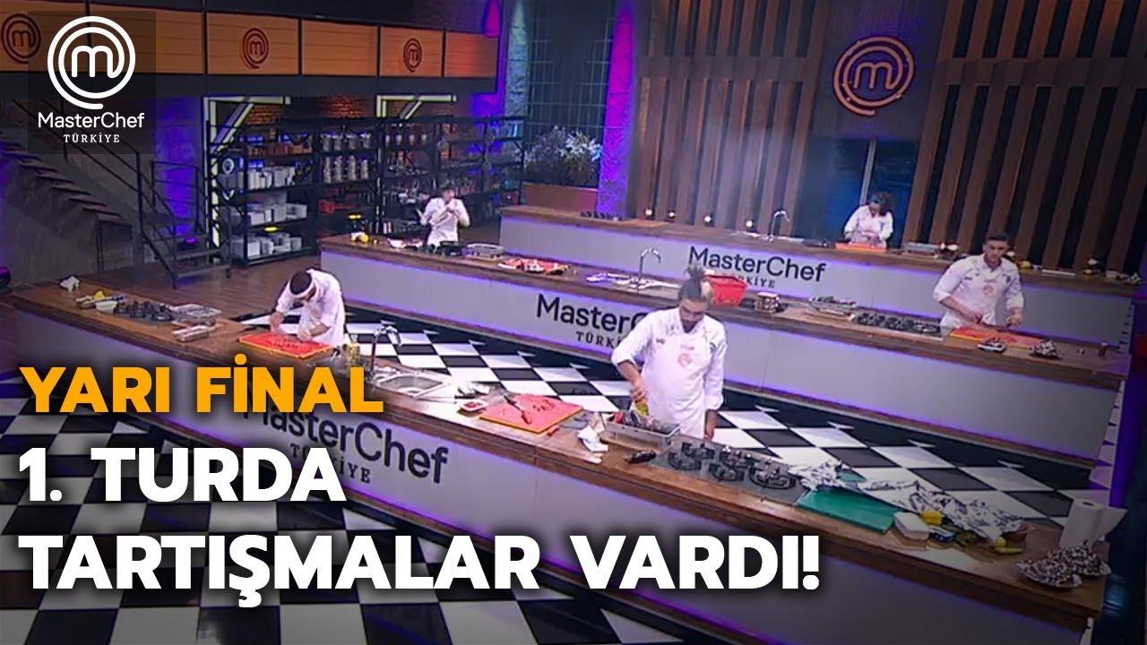 1.Tur  | Yarı Final | MasterChef Türkiye