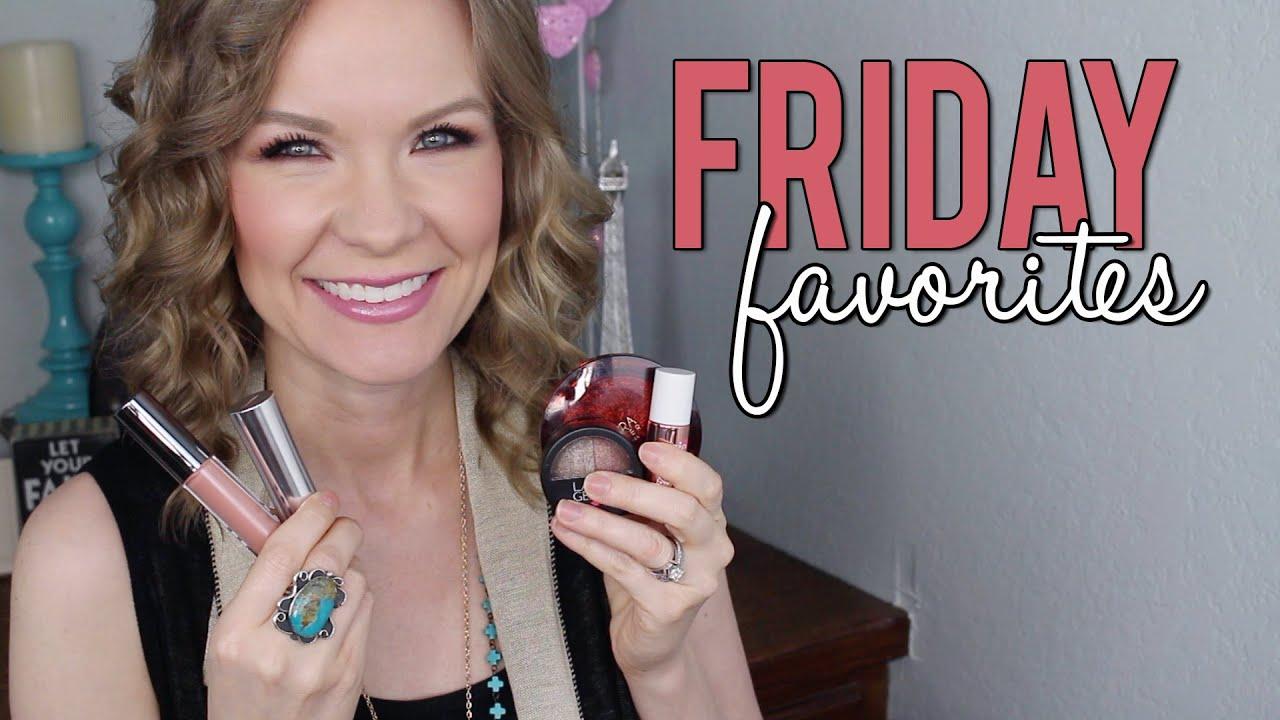 Friday favorites fooeys laura geller hourglass benefit