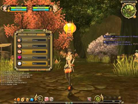 Ragnarok Online 2 Legend of the Second – Archer Gameplay