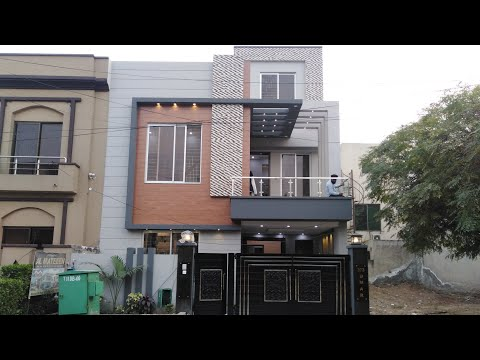 5 Marla 25×45 Luxurious Small House 🏡 with 3 Bedroom