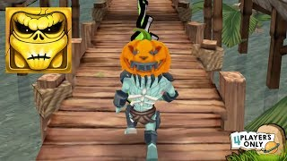 Zombie Run HD #18 | PREDATORZ Halloween Hat in old temple cemetery! By RetroStyle Games